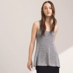Wilfred Pinson Gray Knit Tank Top